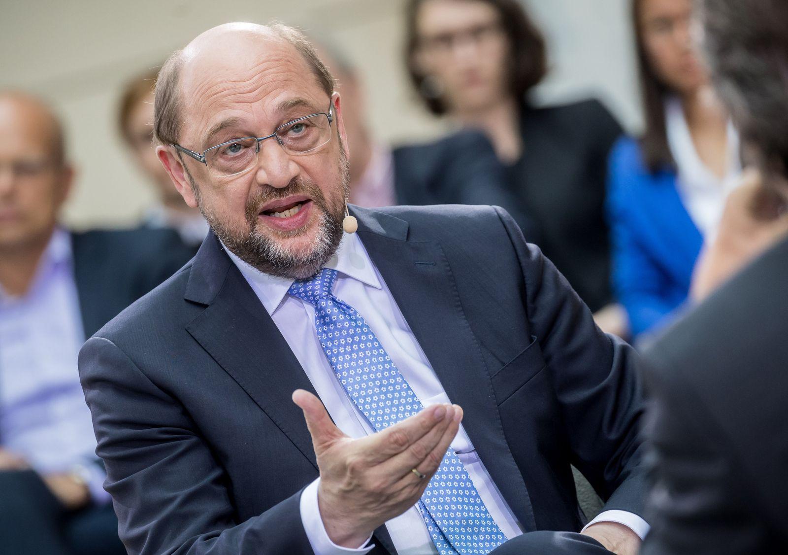 Martin Schulz bei Phönix Forum Politik
