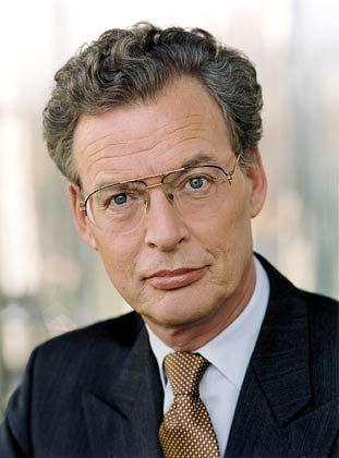 """Gerhard Cromme, Oberaufseher von ThyssenKrupp und Chef der Regierungskommission """"Deutscher Corporate Governance Kodex"""""""