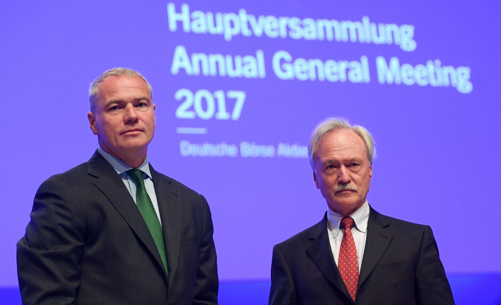 Carsten Kengeter / Joachim Faber