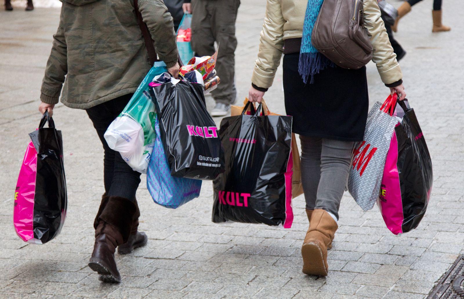 Einkaufen / Einkaufstüten / Einkäufe