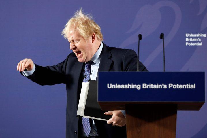 Britischer Premierminister Boris Johnson