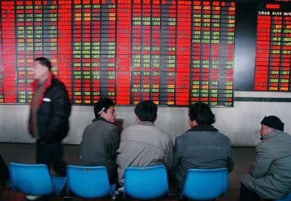 Börse in Shanghai: Schwache Vorgaben drückten den Dax