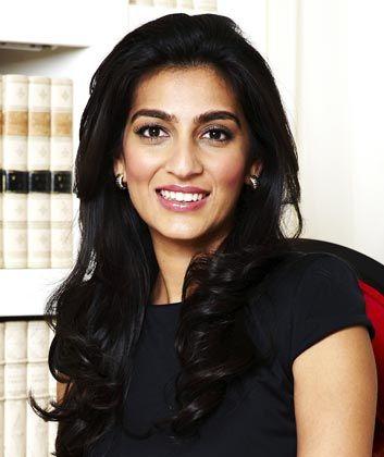 Jung, schön, reich: Die 33-jährige Mittal stammt aus einer wohlhabenden indischen Familie und ist die Schwiegertochter des Milliardärs Lakshmi Mittal