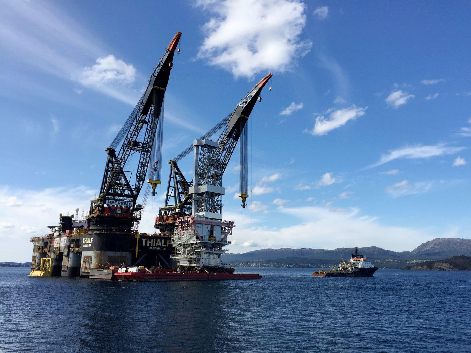 Norwegen Öl