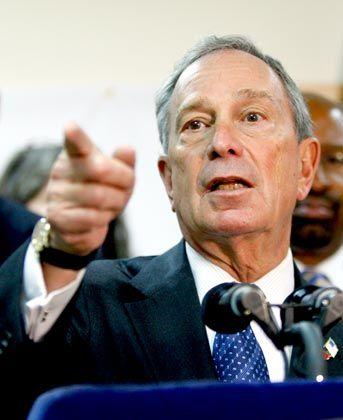 Bloomberg: Alter und neuer Bürgermeister