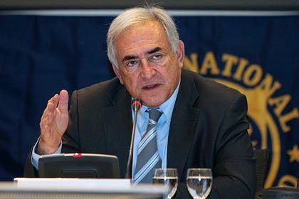 """IWF-Chef Strauss-Kahn: """"Wir sind am Wendepunkt"""""""