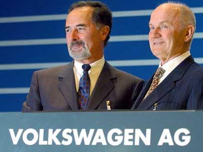 """""""Genügend Material"""": Pischetsrieder, Piëch auf der Hauptversammlung von Volkswagen"""