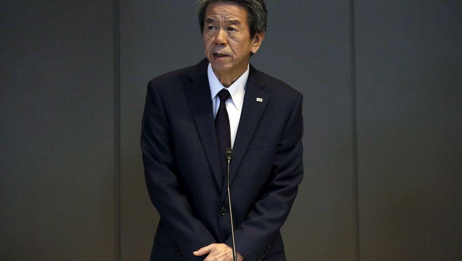 Wusste von geschönten Zahlen in der Bilanz: Auch Toshiba-Chef Hisao Tanaka muss gehen