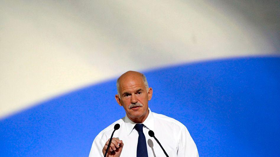 """Griechenlands Premier Papandreou: """"Enorme Opfer"""" der griechischen Bürger"""