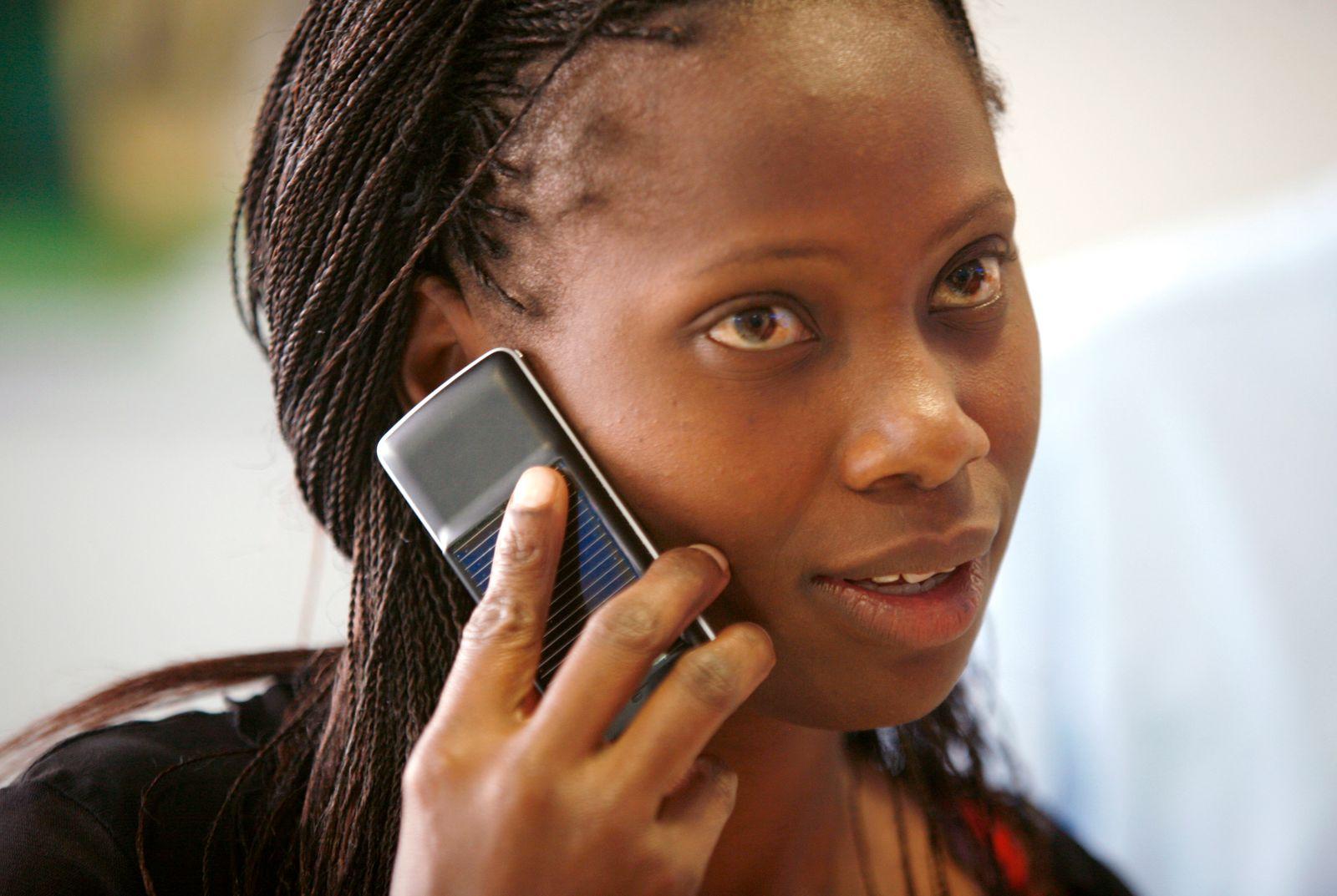 Mobilffunk / Safaricom-User Kenia