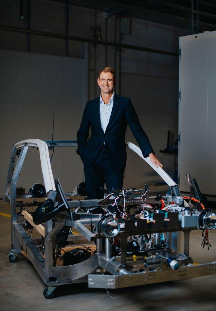 Was wird aus dem e.GO? Elektro-Pionier Günther Schuh.