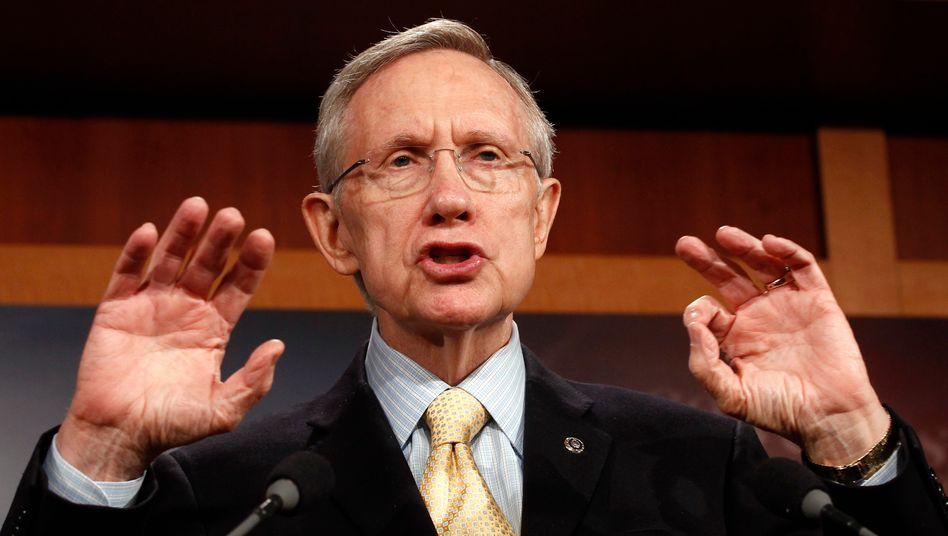 US-Politiker Harry Reid: Höhere Steuern für Millionäre gefordert