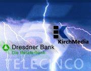 Schlechte Stimmung: KirchMedia attackiert die Dresdner Bank