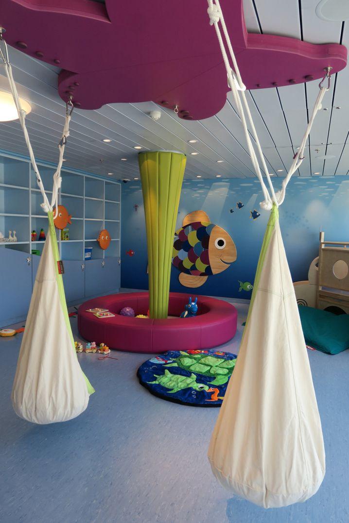 Viel Platz für die Kleinsten: Der Kidsclub wurde deutlich vergrößert