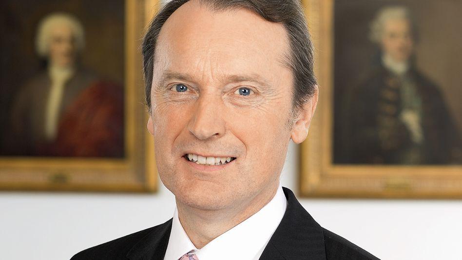 Freut sich sowieso: Hans-Walter Peters, Chef der Privatbank Berenberg.