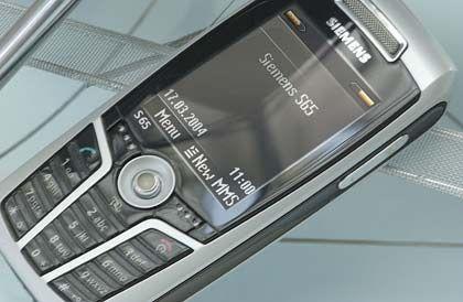Bildqualität nur ausreichend: Siemens S65