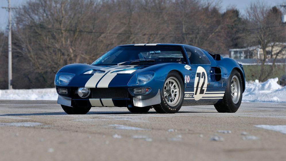 Neun Ferraris, ein Ford: Die teuersten Oldtimer 2014