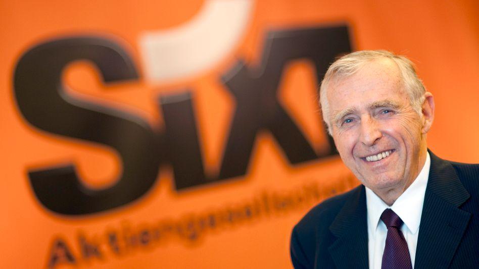 Vorstandsvorsitzende der Sixt AG, Erich Sixt