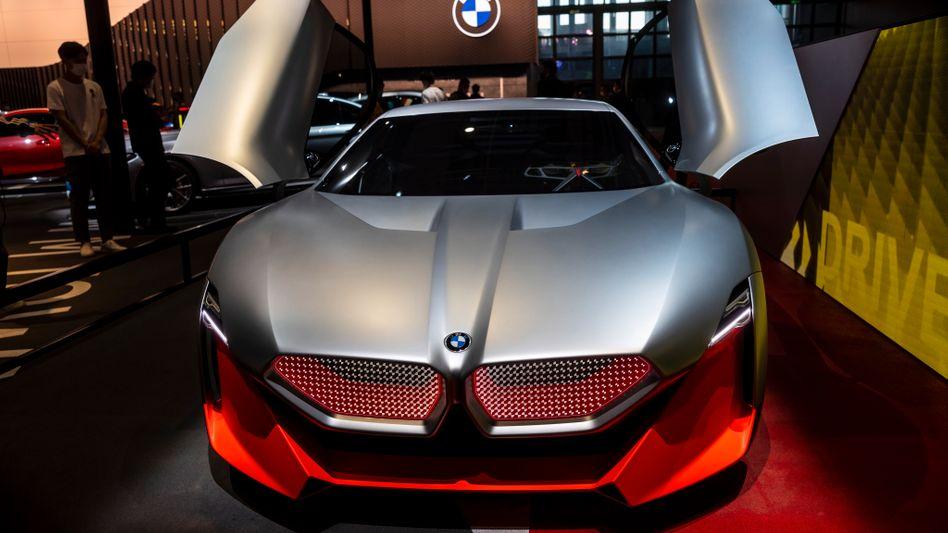 BMW-Konzeptauto auf der aktuellen Show in Shanghai: Der Autobauer meldete am Abend einen Milliardengewinn