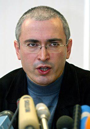 In Haft: Michail Chodorkowski muss der Zerlegung seines Konzerns hilflos zusehen