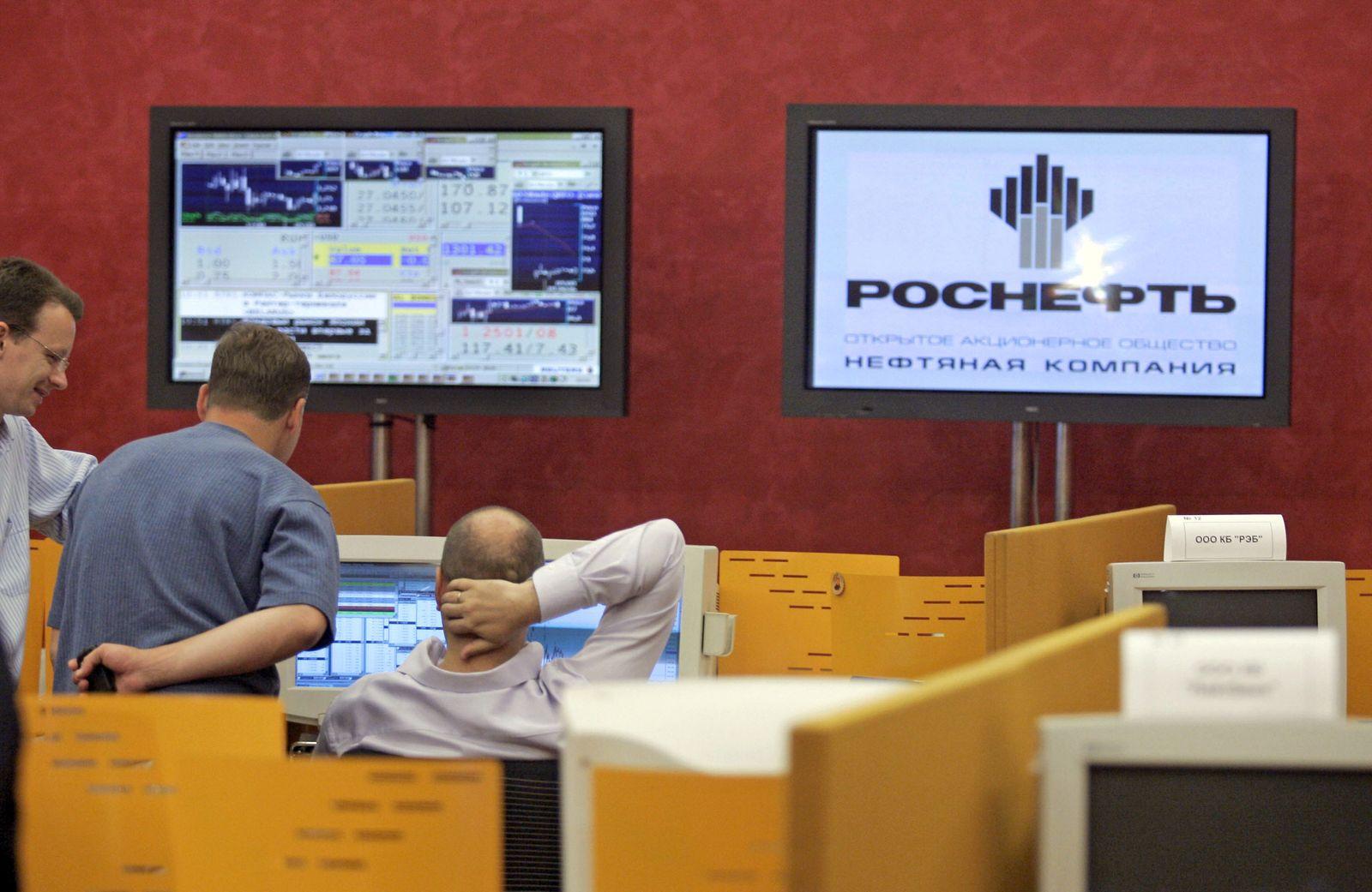 Handel mit Rosneft-Aktien gestartet / Rosneft Börsengang