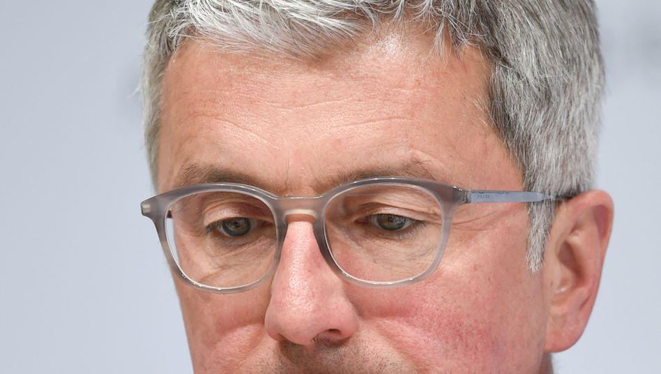 Audi-Chef Rupert Stadler auf einer VW-Hauptversammlung - vor seiner Verhaftung