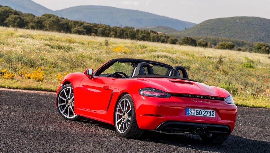 Porsche Boxster: Ein Monatsabo inklusiv Versicherung kostet rund 1300 Euro