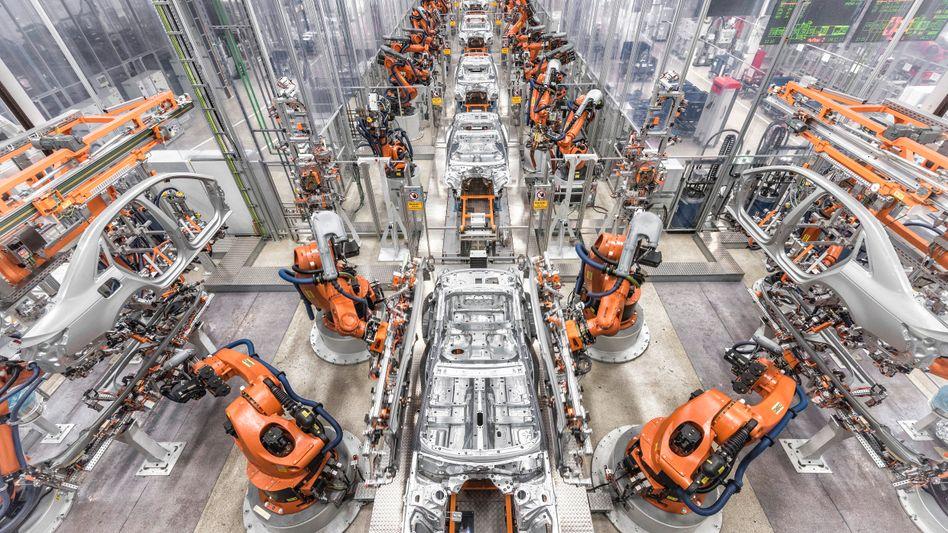 Audi-Produktion in Ingolstadt