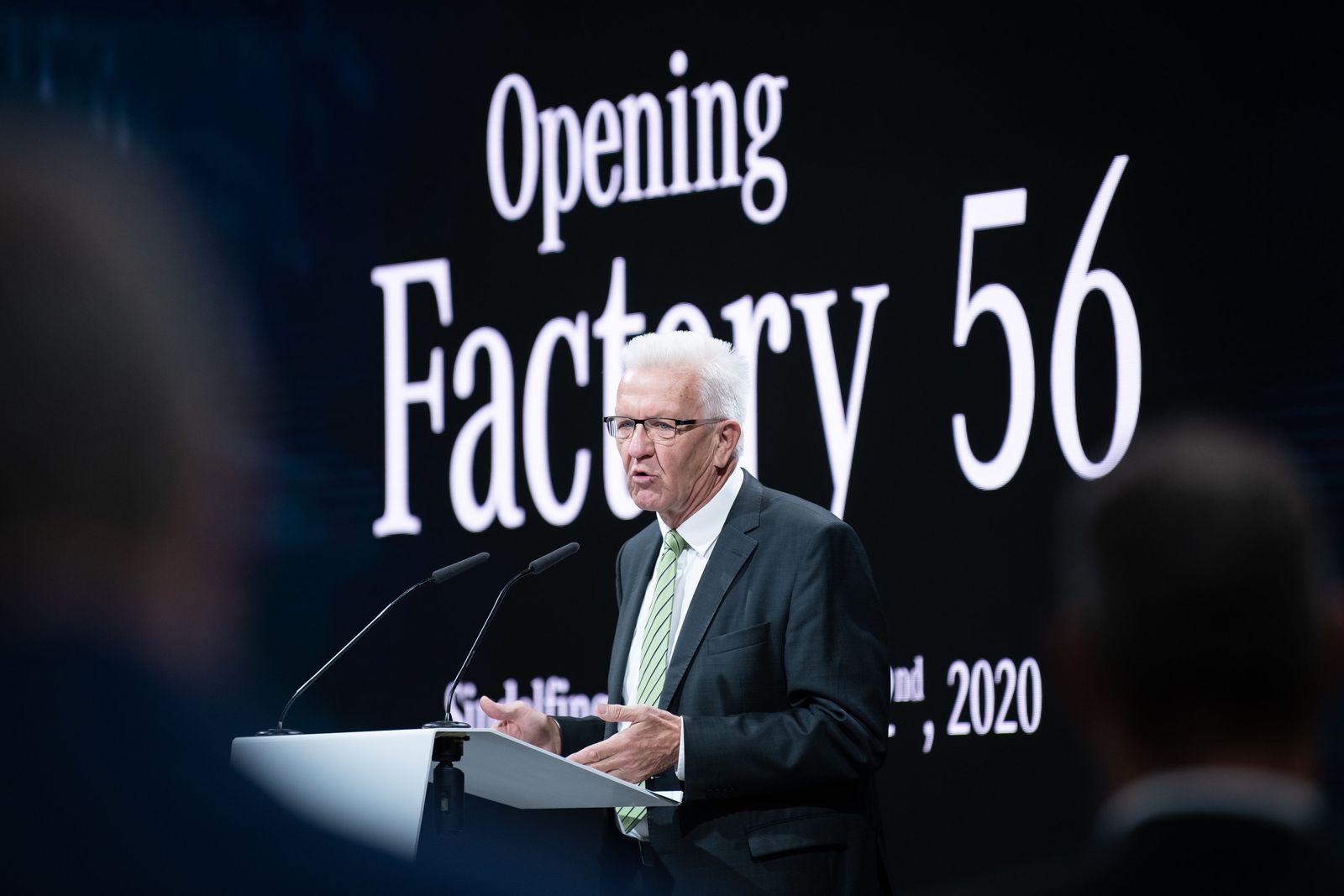 """Eröffnung der """"Factory 56"""""""