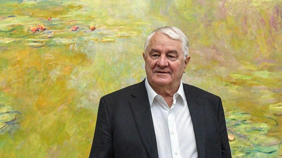 Große Kunst: SAP-Legende Hasso Plattner