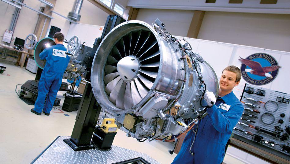 Weniger Wartung, weniger Bestellungen: Der TriebwerksbauerMTU muss im Zuge der Corona- und Luftfahrtkrise Stellen abbauen