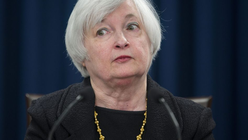 Skeptische Janet Yellen: Früher oder später muss die Chefin der US-Notenbank wieder eingreifen, damit die dritte Welle der globalen Schulden-Deflationsspirale nicht alles überrollt