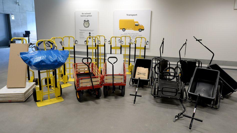 Cash und Carry: Ikea versucht sein Image aufzupolieren, sich moderner, digitaler und erlebnisreicher zu präsentieren