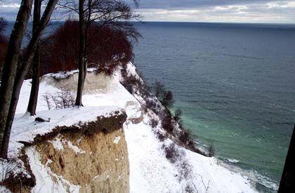 Klare, kalte Farben: Im Winter hat Rügen ganz eigene Reize