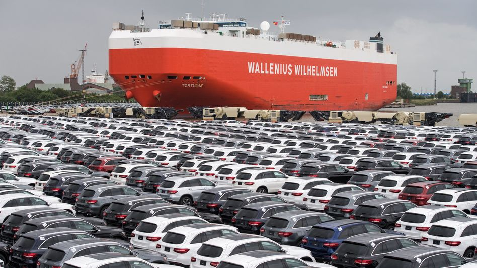 """Deutsche Autoexporte: US-Strafzölle """"wohl vermeidbar"""""""