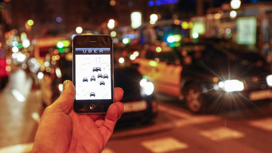Soeben ist Uber in Spanien verboten verboten. Investoren stören die vielen juristischen Verfahren des Startups nicht. Sie überschütten es mit Geld