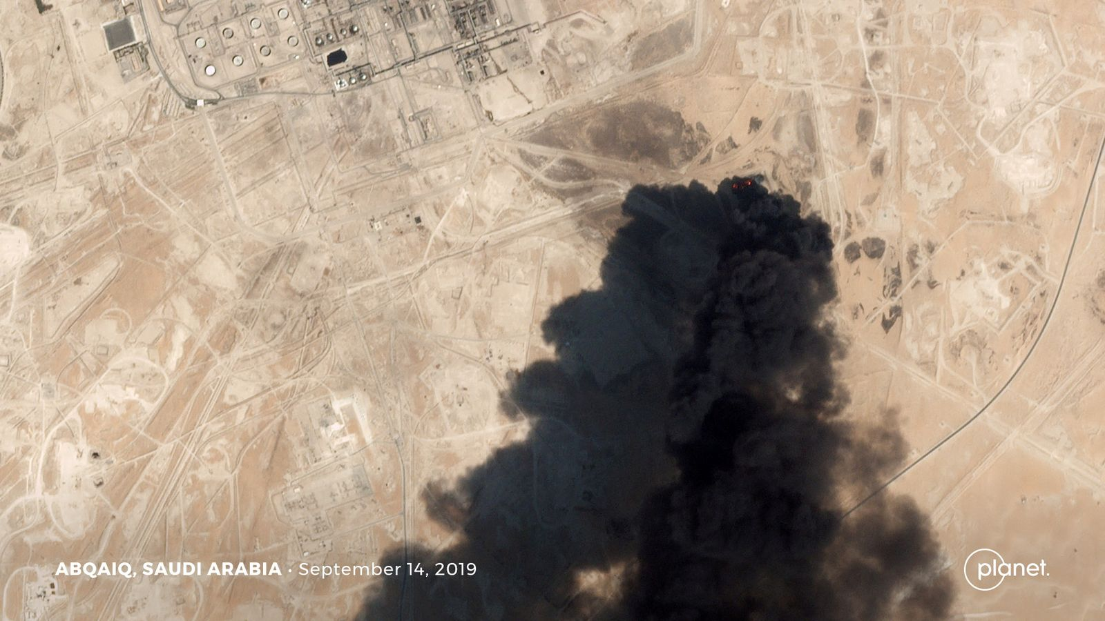 EINMALIGE VERWENDUNG Saudi Aramco / Drohnenangriff