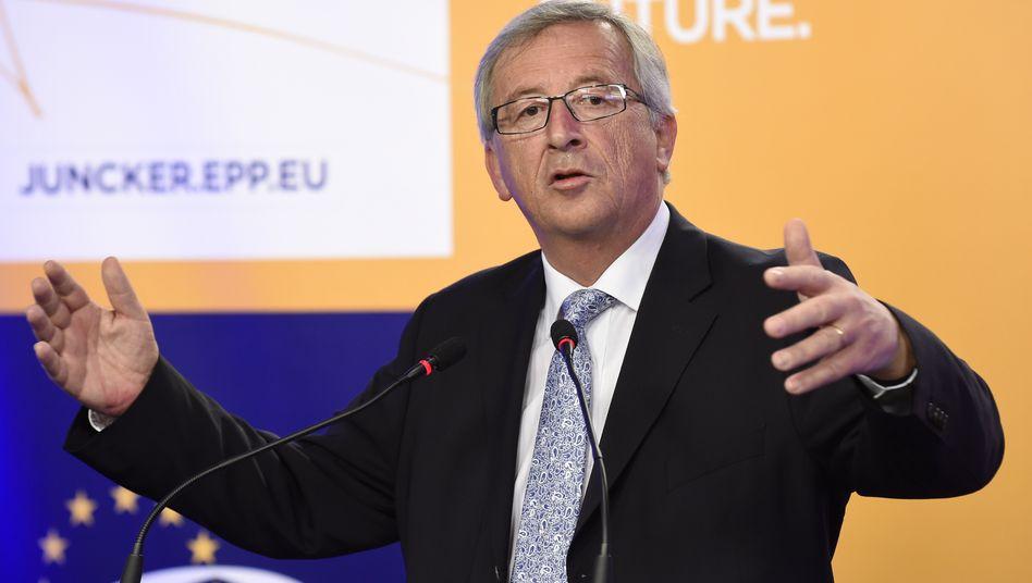 Wahlsieger: Christdemokrat Juncker erhebt Anspruch auf den Posten des EU-Kommissionspräsidenten