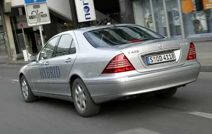Mercedes S-Klasse mit Hybridantrieb: Neue Antriebstechnik führt DaimlerChrysler, General Motors und BMW zusammen