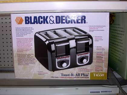 "Trend ""Markentransfer"": Black & Decker Toaster"