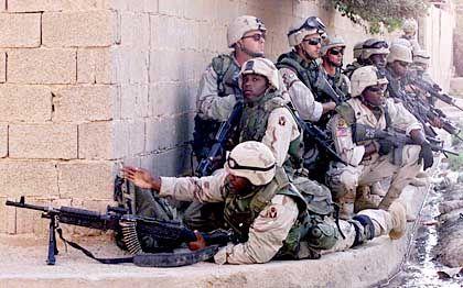 Kostspieliges Engagement: US-Soldaten im Irak