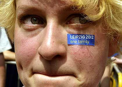 Den Tränen nahe: Mit vollem Einsatz haben sich die Leipziger auf Olympia vorbereitet