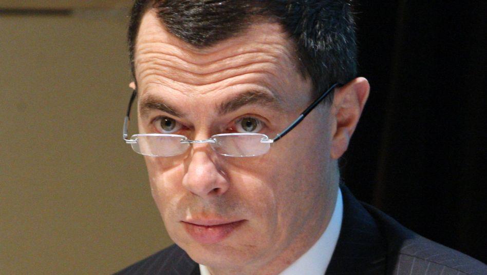 """""""Ich stehe auf Disziplin und kompromisslose Ausführung"""": Unicredit-CEO Jean Pierre Mustier bringt die Bank auf Vordermann."""