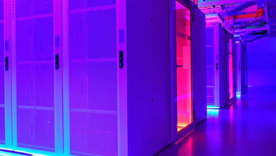 Datacenter von SAP in Walldorf
