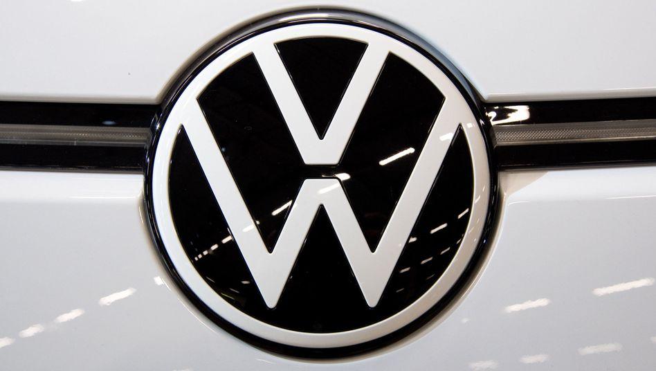 Neues Volkswagen-Logo