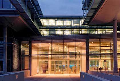 Teherani-Entwurf: Swiss-Re-Gebäude in München