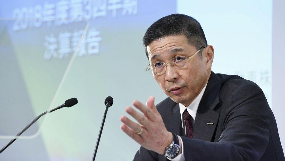 Nissan-Chef Hiroto Saikawa hatte eingeräumt. zu hohe Zahlungen erhalten zu haben