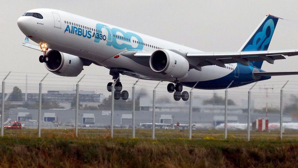 Milliardenauftrag für Airbus: Die philippinische Cebu Pacific hat 16 Airbus-Flugzeuge der Klasse A330neo bestellt
