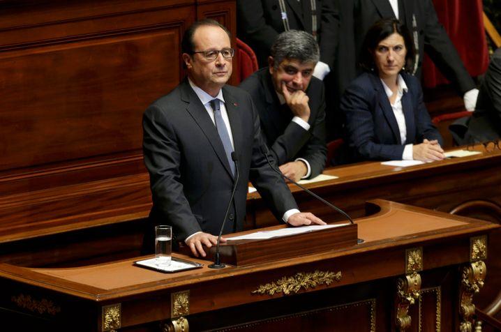 """Hollande in Versailles: """"Syrien ist zur größten Terrorismusfabrik der Welt geworden."""""""