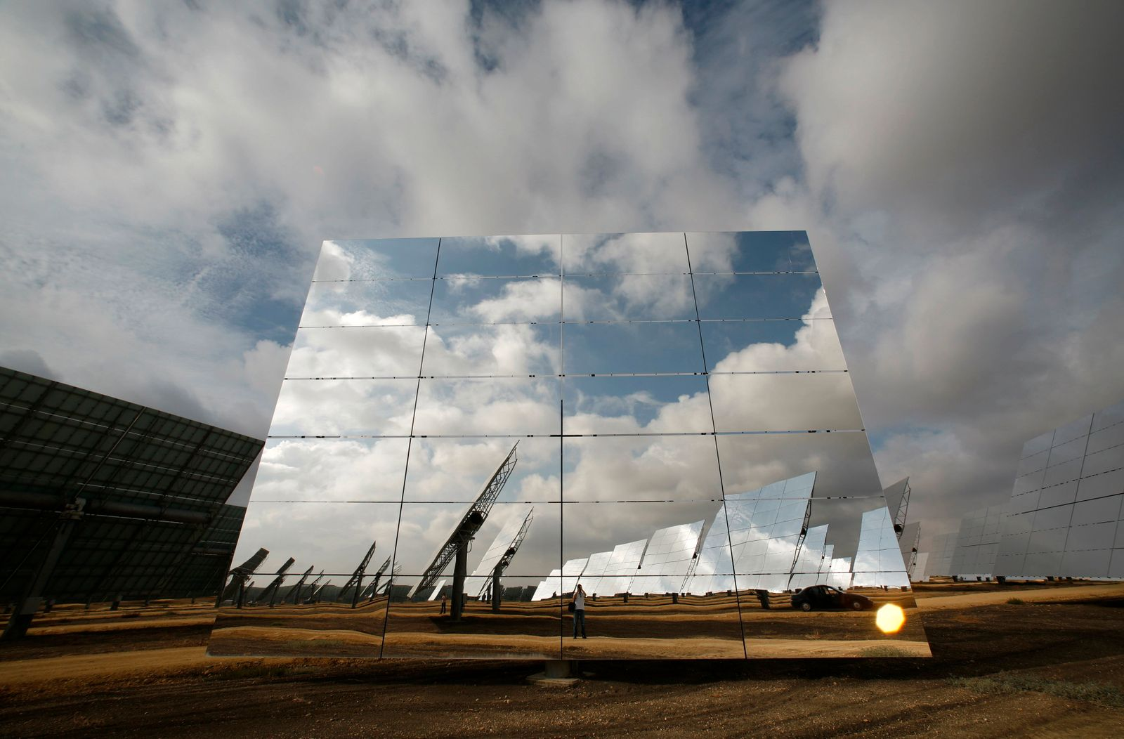 Spanien / Solaranlage / Solarenergie